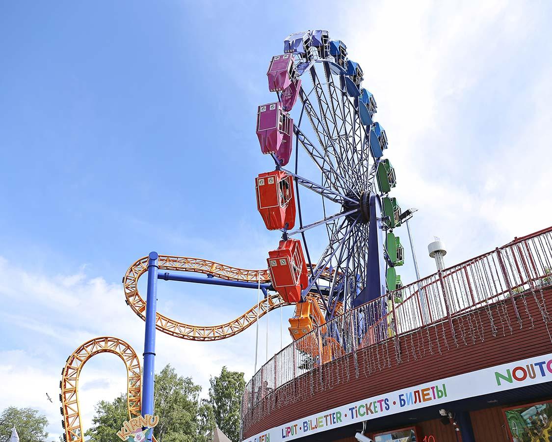 What to do in Helsinki Linnanmaki amusement park