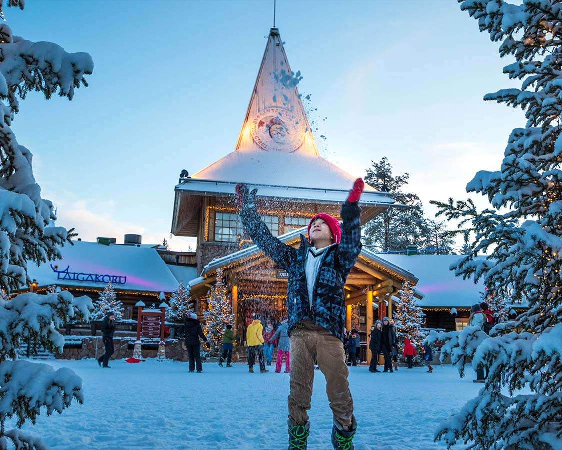 Rovaniemi Christmas Village Lapland
