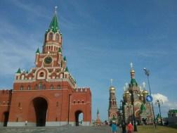 Dem Moskauer Kreml nachempfunden, Portal mit Kathedrale, alles brandneu, erst ein paar Jahre alt.
