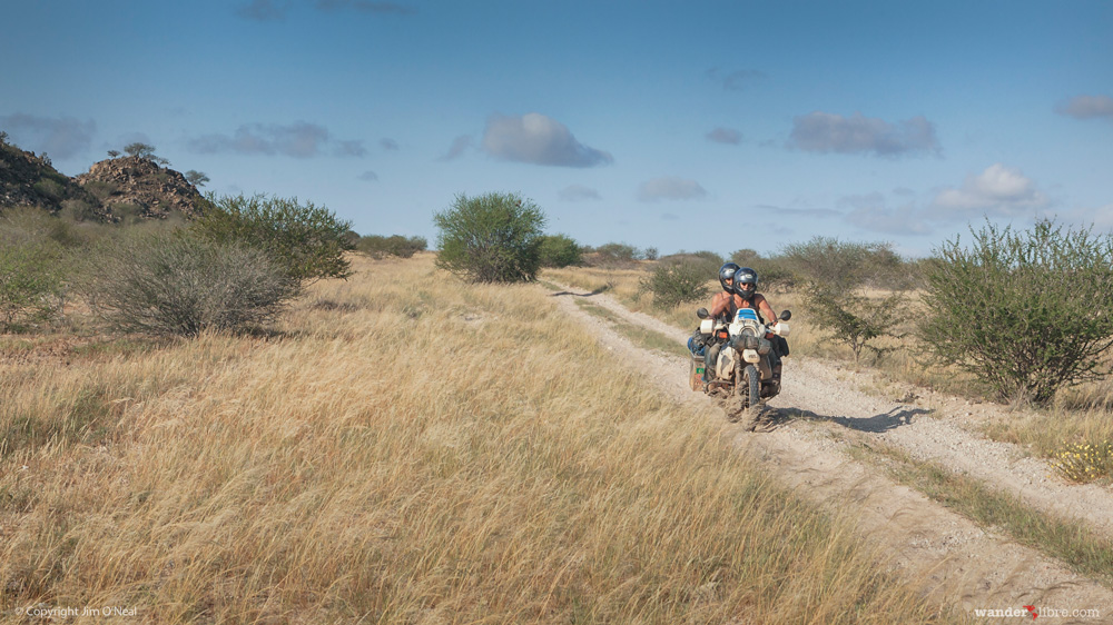Couple Traveling Across Africa on a BMW R100GS