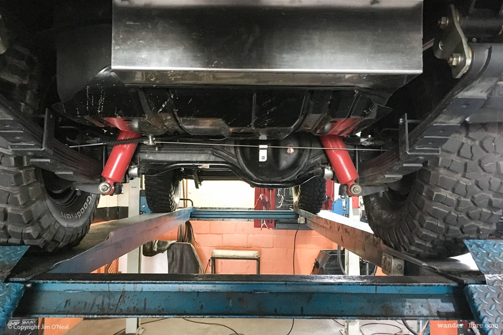 Koni Rear Shocks & OME Leaf Springs