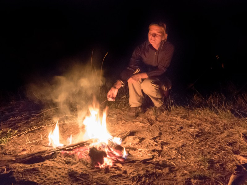 On Safari: Nighttime in the African Bush