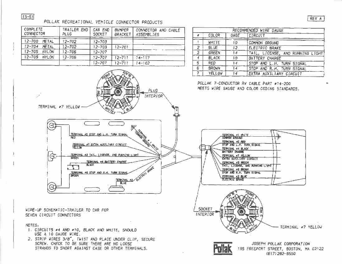 Wiring Diagram Pollak 1923 For Light Switch 6 Pin Outstanding Photos Best Images Rh Oursweetbakeshop Info Trailer Plug