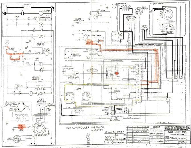diagram wiring diagram genset pdf read or download full