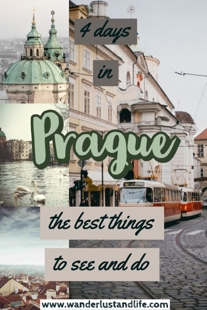 Are you looking to spend 4 days in Prague? Well we have come up with the perfect Prague 4 day itinerary to help you plan the perfect trip. We look at the best food, drink and answer your questions about what to do in Prague in 4 days. #prague #europe #wanderlustandlife