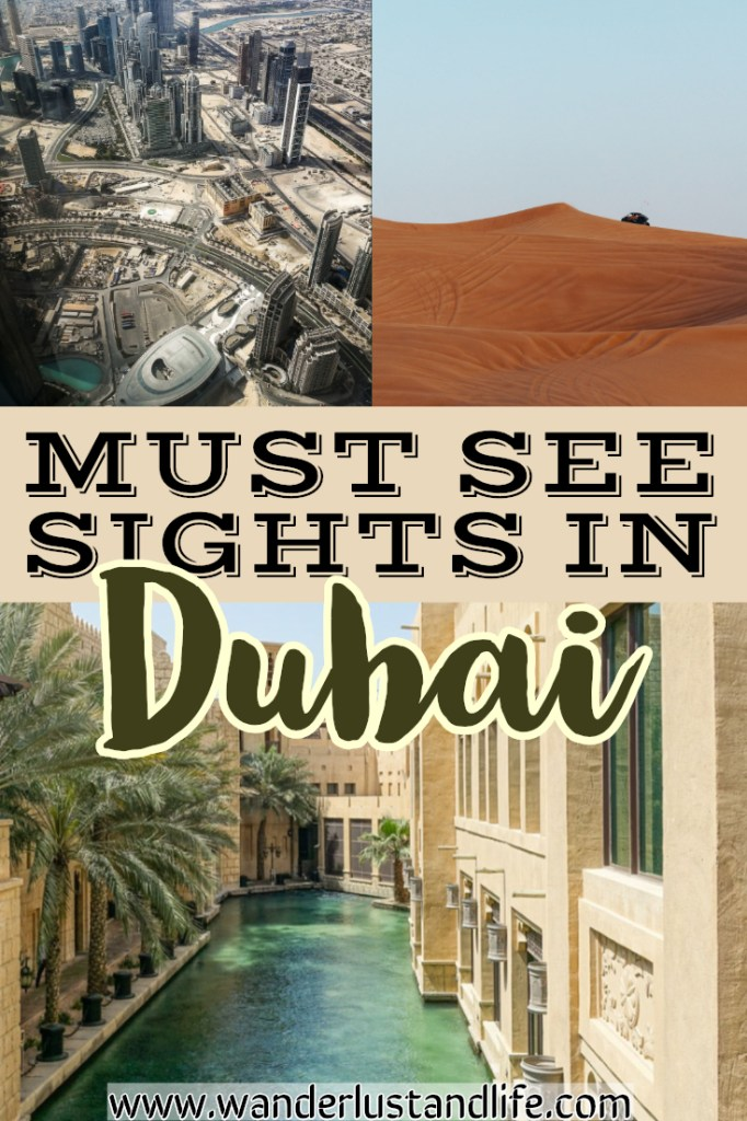 Dubai Itinerary 2 days- Are you planning on spending 2 days in Dubai? Well we have created this comprehensive guide on the best things to do. Our 2 day Dubai itinerary also includes tips to help you see the best of Dubai in 2 days. #wanderlustandlife #dubai #unitedarabemirates