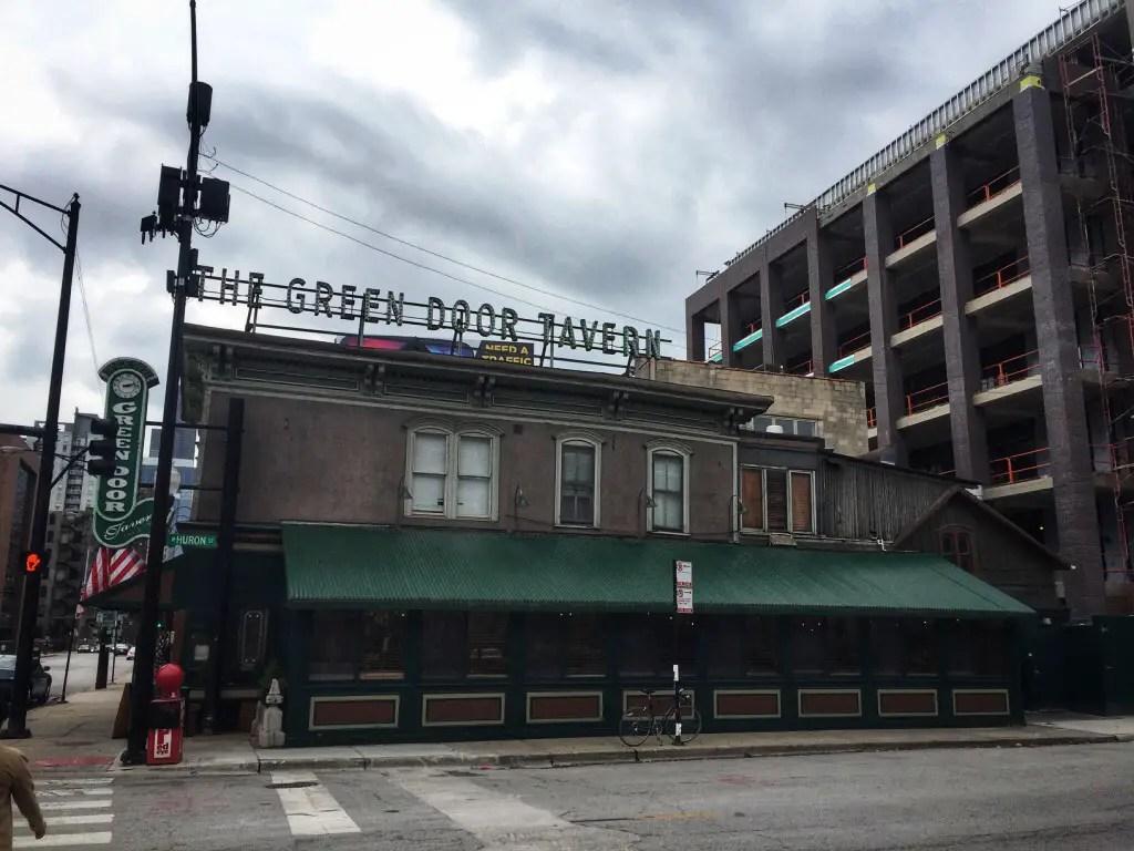 The Green Door Tavern in Chicago