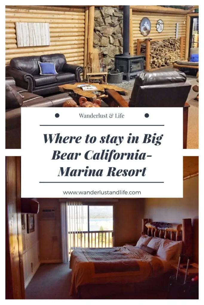 Marina Resort Big Bear Lake California