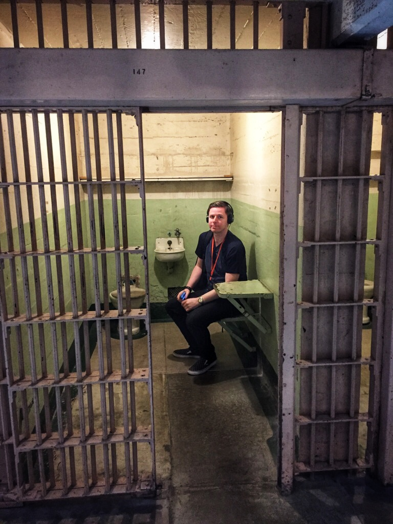 Jail Cell in Alcatraz