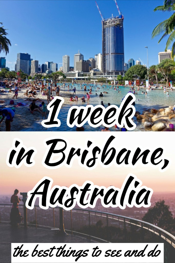 Wondering how long to spend in Brisbane? We have come up with a 1 week Brisbane itinerary. It's the perfect amount of time to get to grips with the city. Brisbane is a great base but if you want to explore more we also have some ideas for the best road trips from Brisbane, and the best weekend trips from Brisbane. #wanderlustandlife #brisbane #australia
