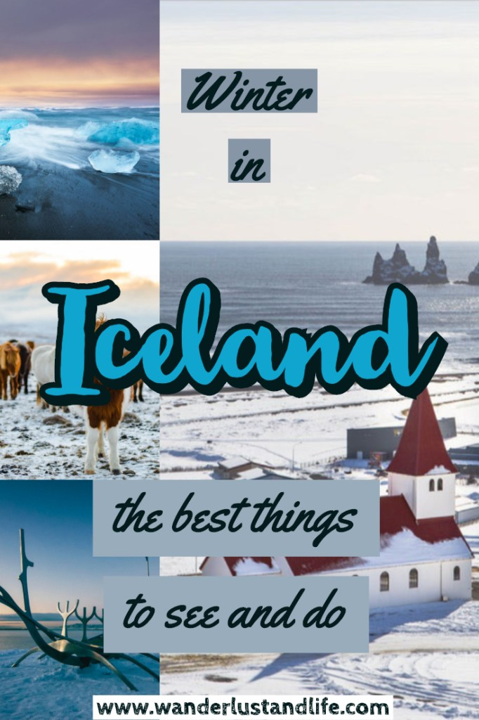 This guide will help you plan your trip to Iceland in winter. From preparing for the weather when traveling to Iceland in November and December, to money saving tips. On top of that we cover what to wear in Iceland in the winter, and the best things to see and do. #wanderlustandlife #iceland