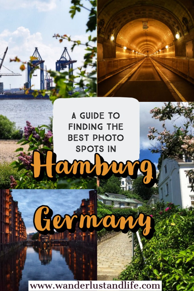 Looking for the most Instagrammable places in Hamburg? This article will help you find those hidden gems and Instagram worthy places in Hamburg. From the city's bridges and architecture, to its scenic harbour we detail the best photo spots in Hamburg so that you don't miss out. #wanderlustandlife #hamburg #germany