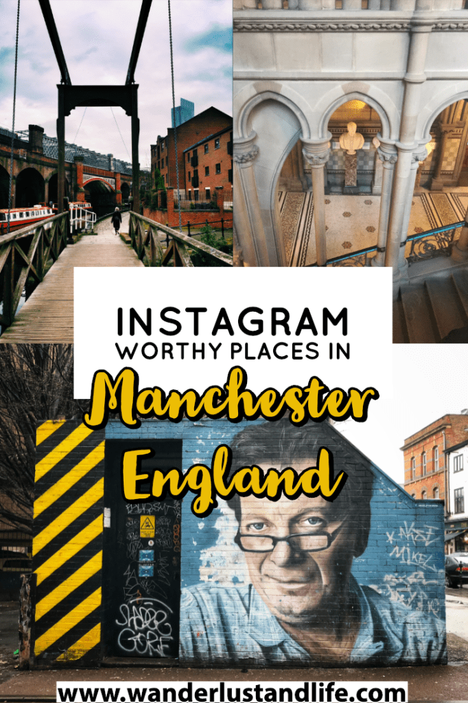 If you are looking for the most Instagrammable places in Manchester, then look no further. We explore all of the hidden gems the city has to offer and help you pinpoint the most Instagram worthy places in Manchester. #wanderlustandlife #manchester #england