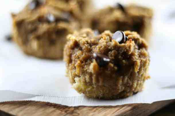 Nut-free banana bread muffin