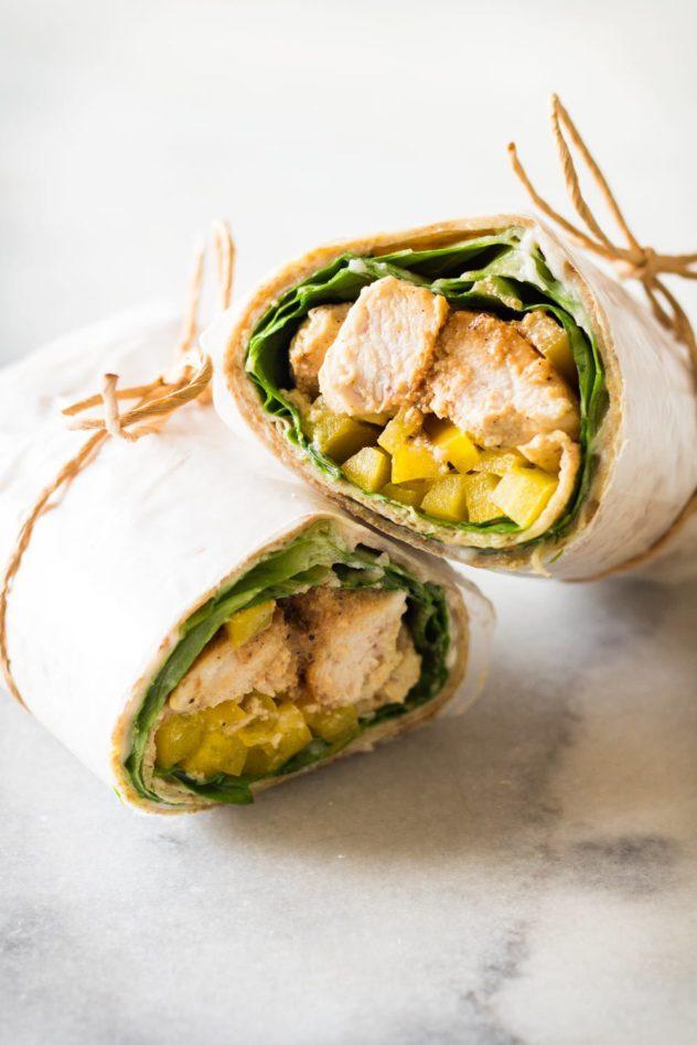 Healthy-Chicken-Wrap