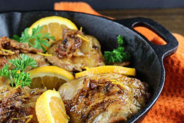 orange-glazed-skillet-chicken