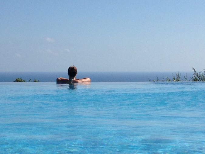 Infinity Pool Aphrodite Hills - Cyprus