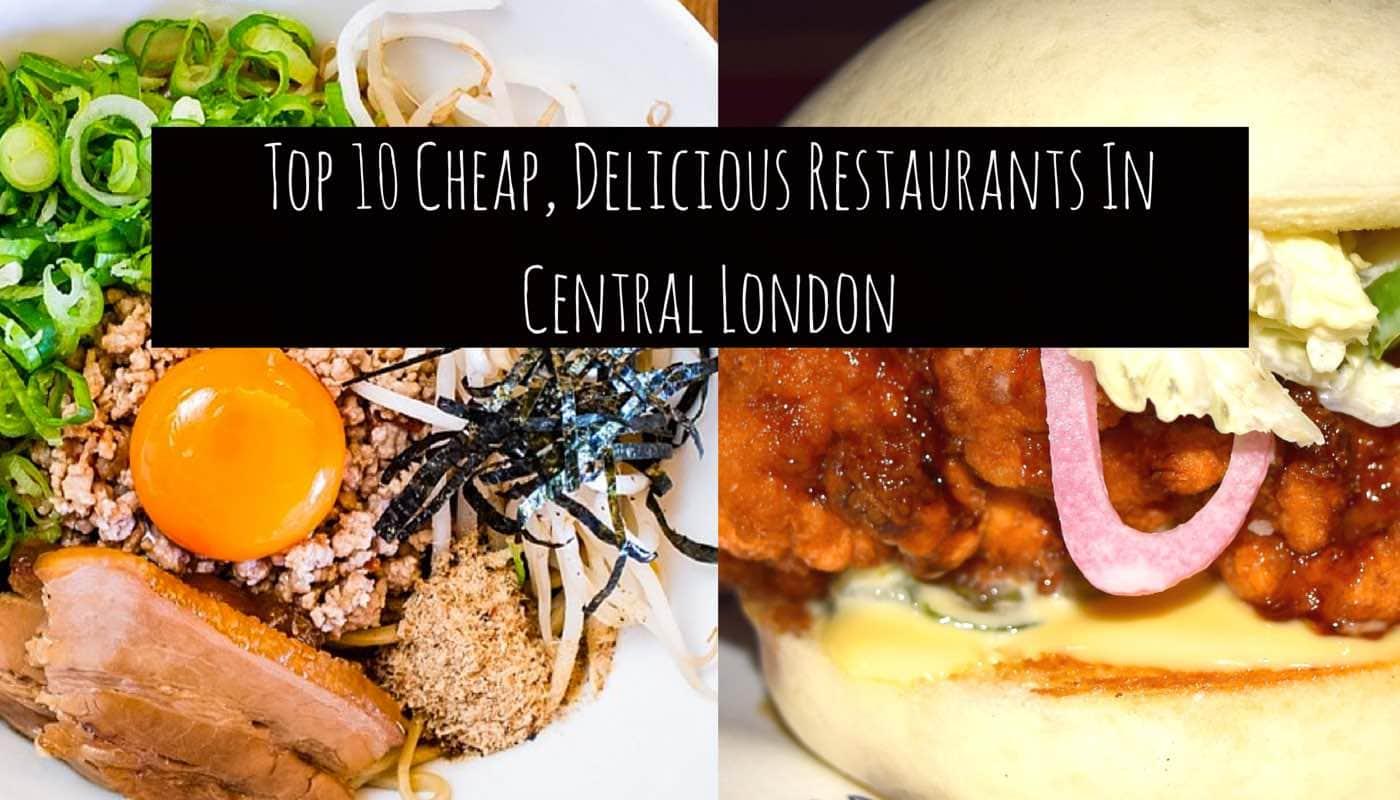 Cheap Restaurants Central London