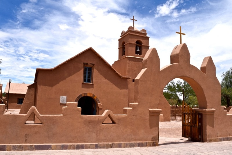 San Pedro De Atacama Church, Chile