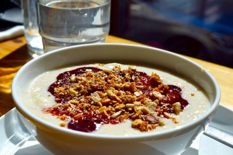 Porridge at Kuppi and Muffini, Helsinki