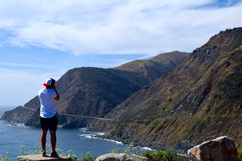 Amazing views on the Pacific Coast Highway