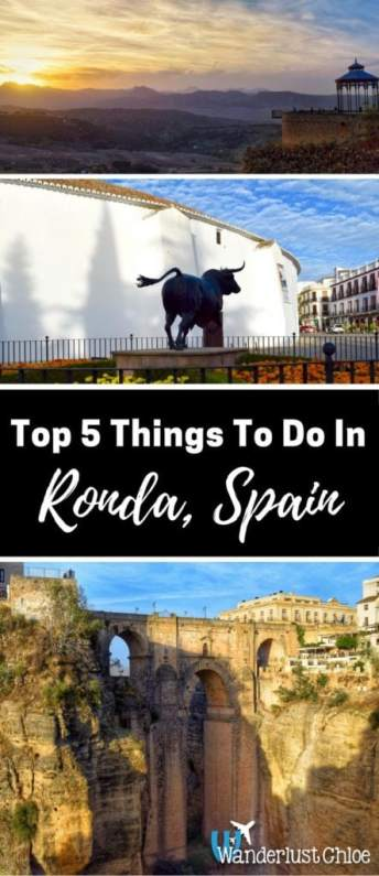 Top 5 Things To Do In Ronda, Spain