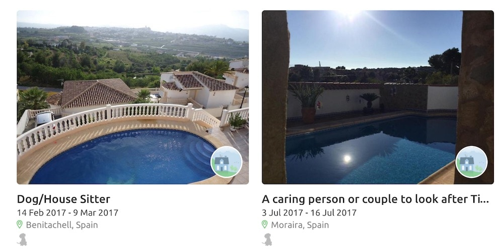 Some amazing places to stay on Trusted Housesitters