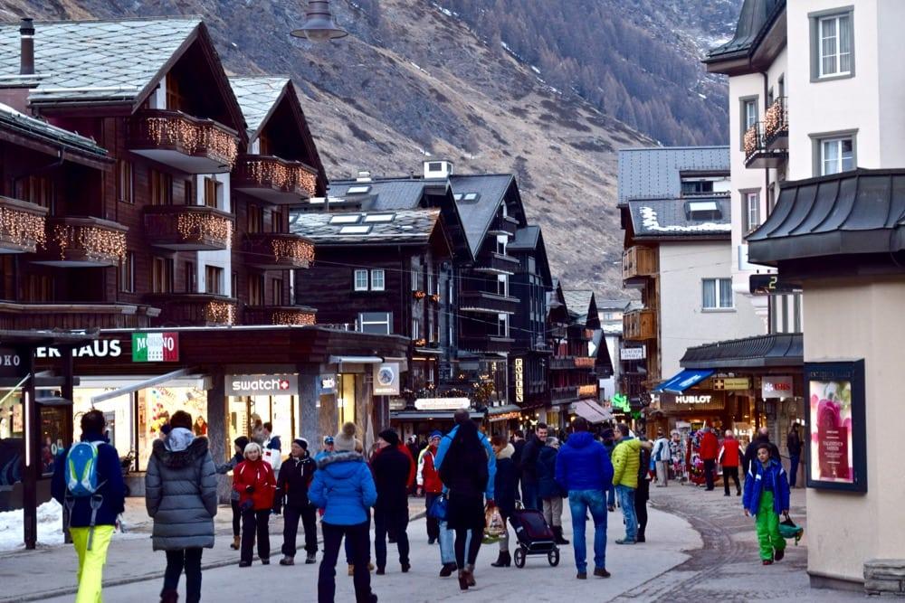 how to go to zermatt from zurich