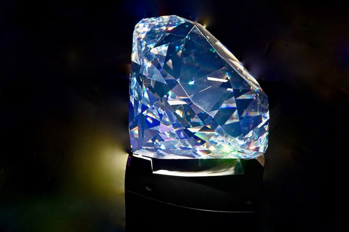 The largest hand cut Swarovski crystal in the worlds