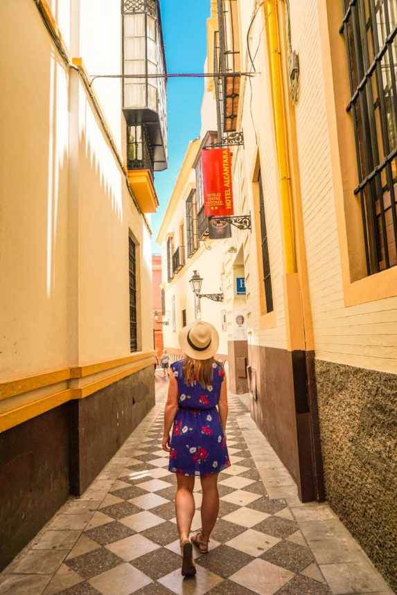 Exploring Seville's Streets