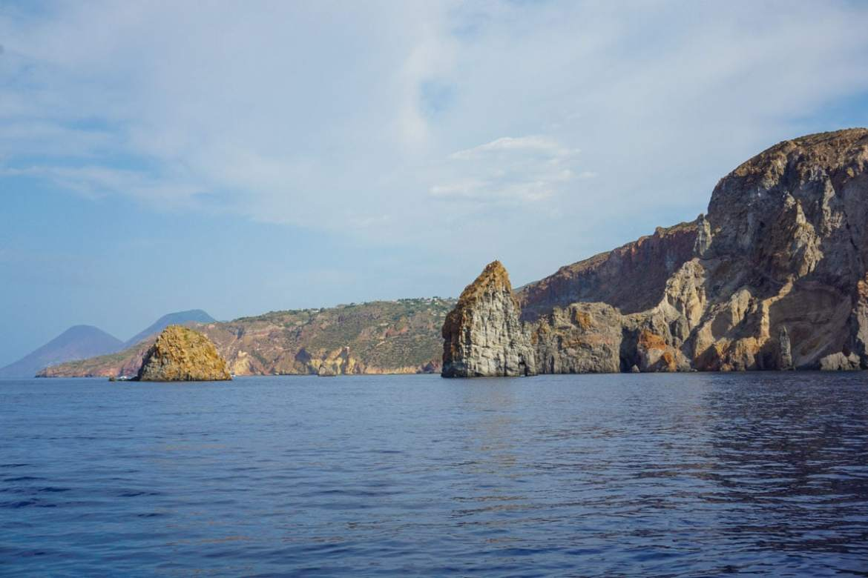 Beautiful views in Sicily's Aeolian Islands