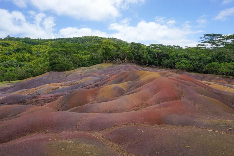 Seven Coloured Earths, Chamarel, Mauritius