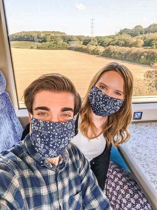 Travelling by train from London to Whitstable