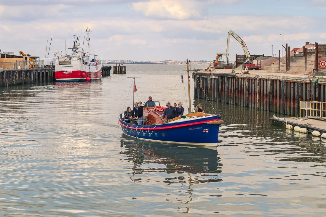 Boat in Whitstable Harbour