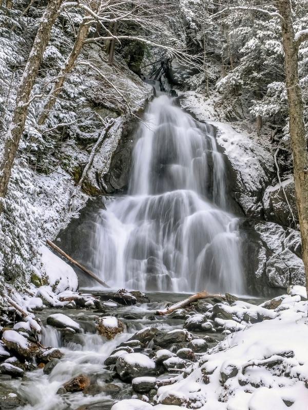 Moss Glen Falls River, Vermont