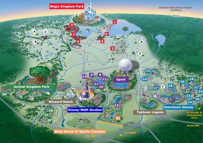 Walt-Disney-World-Map