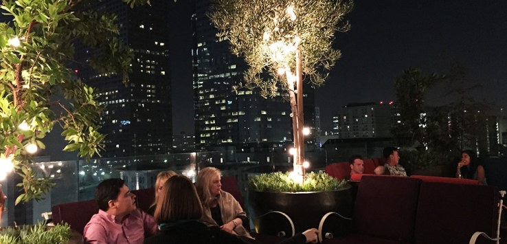 night life in los angeles perch bar