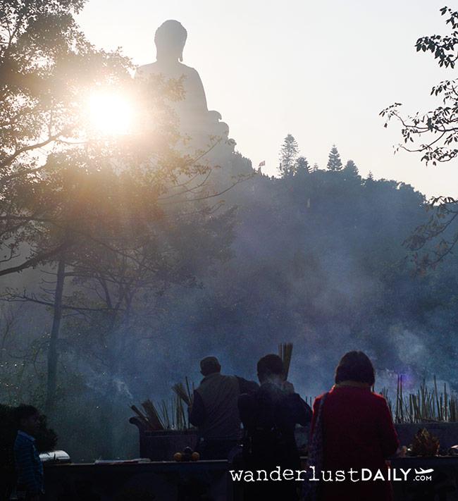 come arrivare al grande buddha hong kong