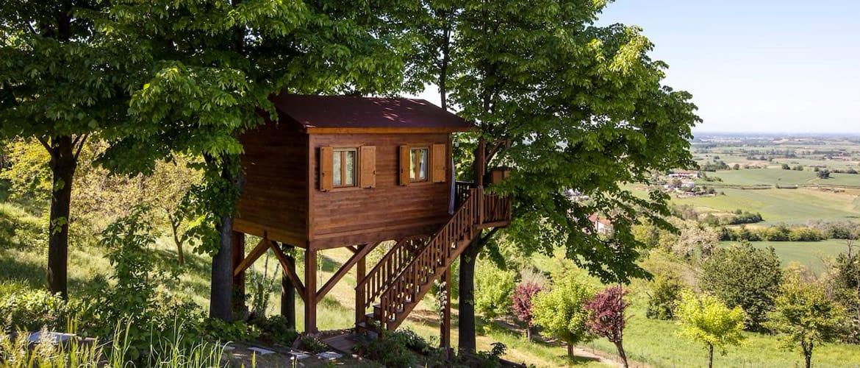 Casa Natura, Lombardia, Treehouses