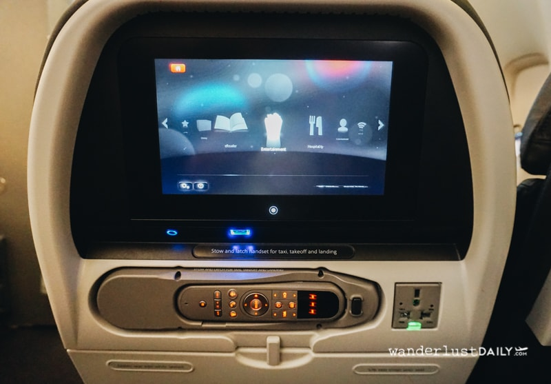 recensione American Airlines economy