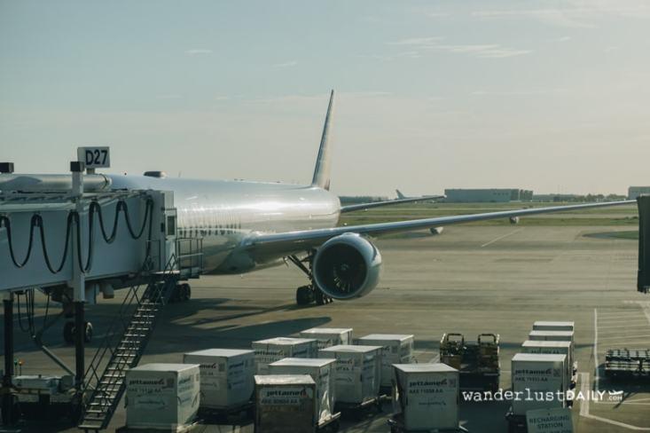 Recensione American Airlines in economy: aeroporto di Fiumicino