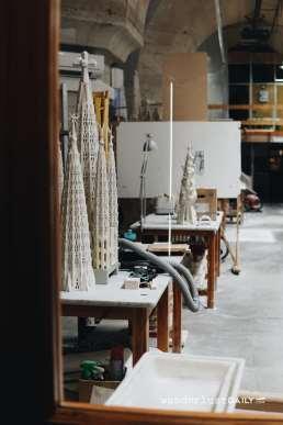 Laboratorio all'interno della Sagrada Familia