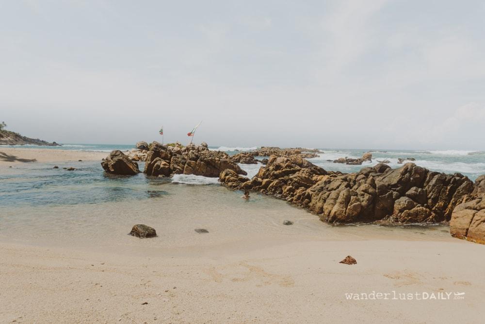 secret beach mirissa