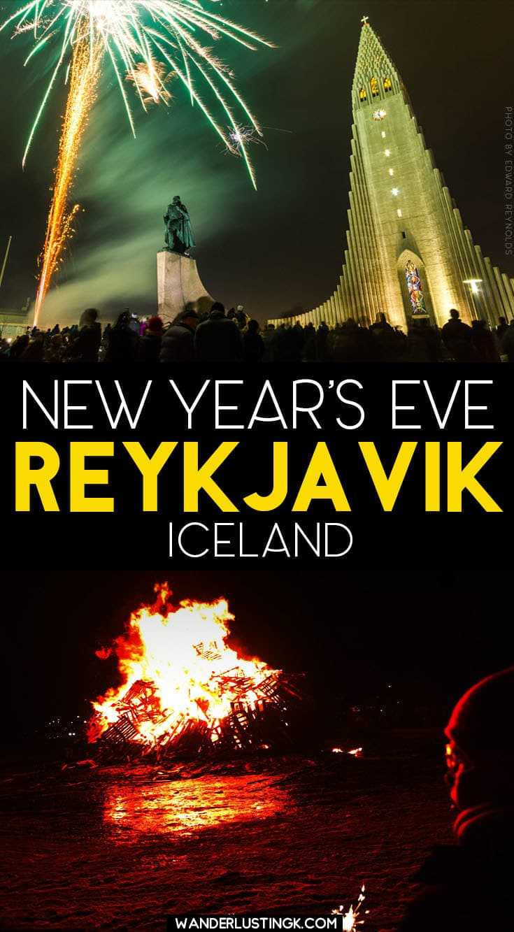Celebrating New Years Eve In Reykjavik Iceland
