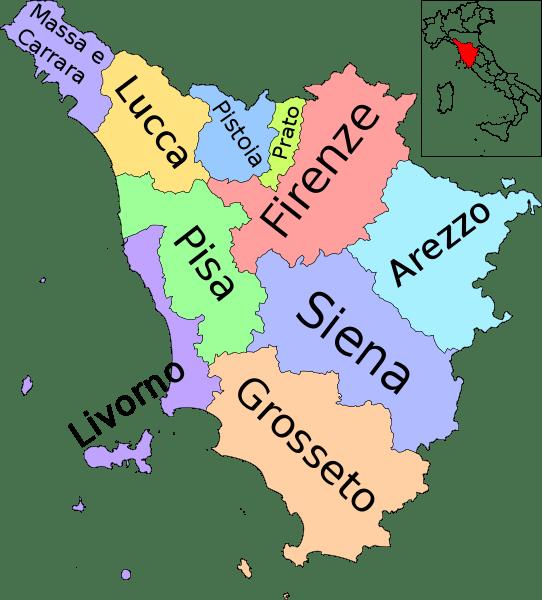 Map-Toscana