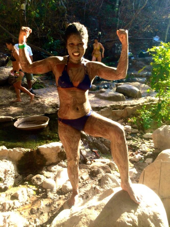 Mud Bath Hot Springs Costa Rica