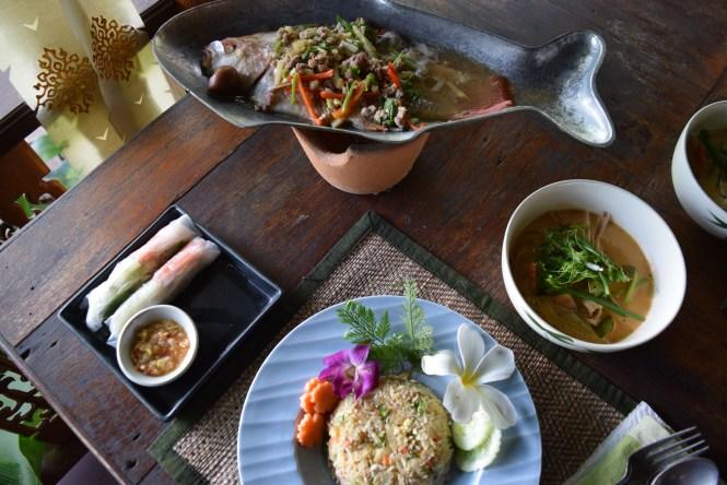 ruby fish pantawan cooking school chiang mai