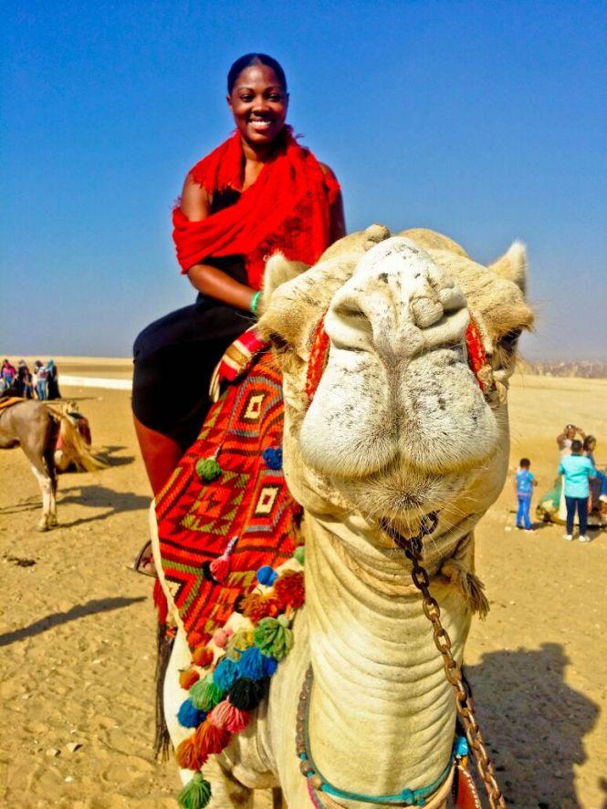 Nina Camel Ride - Giza, Egypt