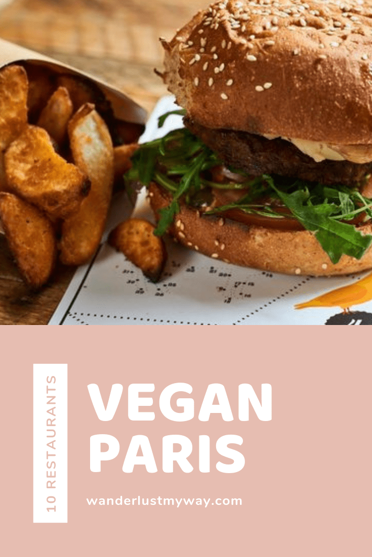 vegan restaurants in Paris