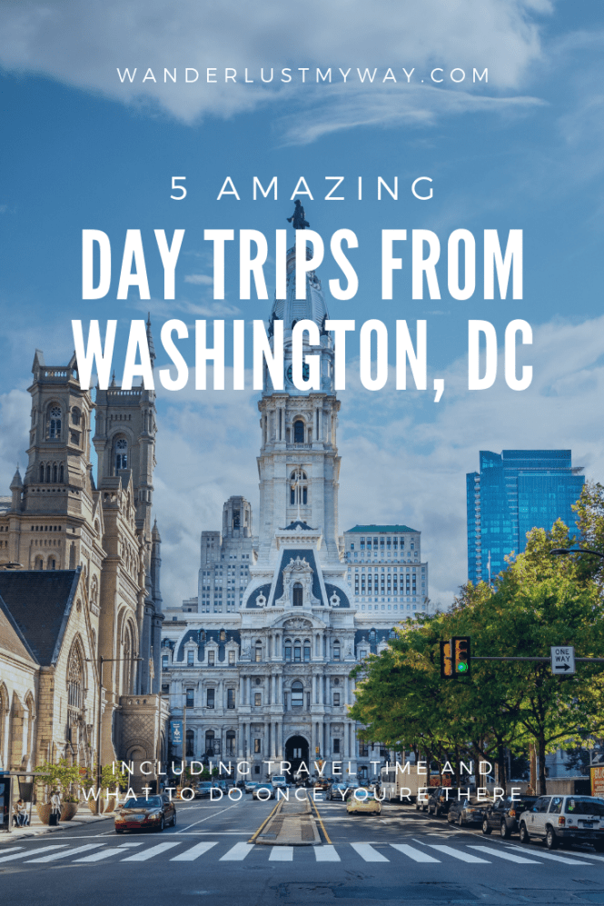 Day Trips From DC - I've compiled this list of five amazing day trips from DC that will cure you wanderlust, if even temporarily. #DC #WashingtonDC #DayTrips
